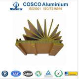 カスタマイズされたカラーによって陽極酸化されるアルミニウムかアルミニウムラジエーター