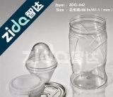 工場は直接明確なプラスチックペンキの缶を卸しで供給する