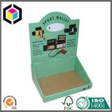 A cópia de cor PDQ ondulado da forma opor a caixa do carrinho de indicador