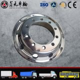 Bordas de alumínio forjadas da roda do caminhão da liga do magnésio para o barramento (9.00*22.5)