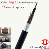 Duct Aerial Long Haul Communication 24 Core Fiber Optic Cable