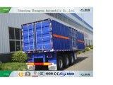 De Semi Aanhangwagen van de Aanhangwagen van de Lading van de Container van de Aanhangwagen van de doos