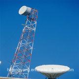 Tour en acier galvanisée de cellules de radar de cornière