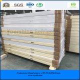 ISO、SGSは涼しい部屋の冷蔵室のフリーザーのための120mm PUサンドイッチパネルを承認した