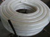 Boyau spiralé d'aspiration renforcé par plastique de PVC