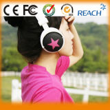 Écouteur coloré d'écouteur d'étoile de bonne qualité d'écouteur de type stéréo de mélange