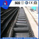 Hohe Leistungsfähigkeits-großer Winkel-vertikaler Bandförderer für den LangstreckenMassenmaterialtransport
