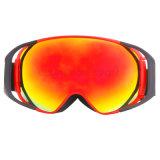 Châssis TPU Logo personnalisé Rainbow Lens Lunettes de neige (snow-3200)