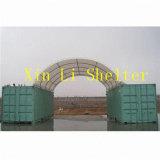 Galpón de contenedor/Estructuras de Sombra/contenedor refugio/refugio