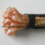 450/750V de Kern van het koper, de Draad van het Koper vlechtte de Beschermde Kabel van de Controle
