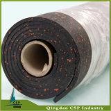 Reducción de ruido de porcelana de gran absorción, goma Gimnasio Mat