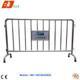 Barriera pedonale smontabile della strada di controllo della rete fissa della barriera dell'acciaio inossidabile del SUS/folla di traffico da vendere