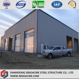 Portail de haute élévation Sinoacme structure métallique du châssis Entrepôt