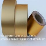 O revestimento interior cigarros Ouro Prata laminado papel de alumínio