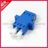 Adattatore ottico di plastica monomodale duplex della fibra di LC