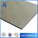 Mármol material ACP de la decoración de aluminio