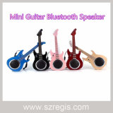 Altofalante sem fio de Bluetooth da mini guitarra creativa elegante