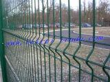 ベルギーの標準緑の粉の上塗を施してある庭の塀