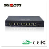 Interruttore Port di Saicom (SCSW-1108P-at) 8 Poe