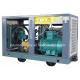 Beweglicher mobiler Dieselschrauben-Luftverdichter