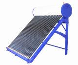 Non pressão aquecedor solar de água para uso doméstico (200 litros) Azul