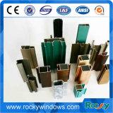 Profil en aluminium de porte et de guichet de la Chine pour le marché de Mauriius