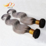 Tessitura bionda dei capelli di colore di alta qualità dei capelli indiani all'ingrosso di Ombre