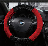 Coperchio fantastico del volante dell'automobile di calore di inverno della pelle di pecora