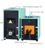 Machine van de Apparatuur van de schacht de Dovende/van de Thermische behandeling van de Inductie van 50kw