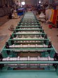Roulis de panneau de toit en métal formant la machine