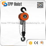 Bloque de cadena manual Hsz, bloques de cadena de la herramienta de mano, alzamiento de cadena