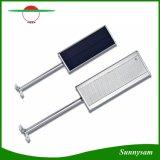 l'indicatore luminoso solare 800lm del sensore di movimento del radar di a microonde 48LED impermeabilizza la lampada esterna di obbligazione della parete della via