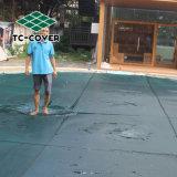 По борьбе с УФ мусора защитную крышку на открытый бассейн