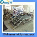 Etapa antirresbaladiza del acontecimiento ajustable barato de aluminio caliente de la venta para el funcionamiento