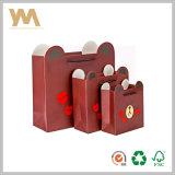 La impresión personalizada de la Junta de marfil bolsa de papel de regalo
