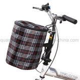 Soem-wasserdichter faltender Segeltuch-Reißverschluss-Kappen-hängender Fahrrad-Korb