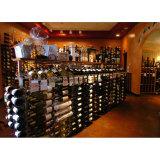 Храньте используемый Free-Standing шкаф красного вина индикации хранения пола металла