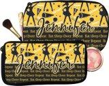 Bolso cosmético del rectángulo de la comida campestre del bolso del almuerzo de la cremallera de la manera para el bolso del totalizador de las muchachas de las mujeres