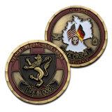 La promoción profesional barato Double Dragon plata chapada en oro Monedas conmemorativas de religiosas