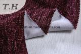 Impresión de terciopelo tejido Burnout Asiento de tela cubierta