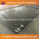 Placa Overlay do desgaste da chapa de aço do cromo de Zhangjiagang Yaoyu carboneto bimetálico