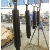 道整備機械容器の傾きの水圧シリンダ