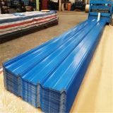 Gewölbtes Dach-Dach strich beschichtetes PPGI PPGL Galvalume galvanisiertes Stahlblech der Farben-Zink vor