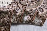 Tessuto floreale del jacquard del tessuto di Chenille della mobilia della tappezzeria grande per il sofà