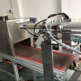 Máquina plana de alta velocidad de la impresora de la pantalla para la tapa del rectángulo de almuerzo