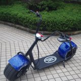 Venta al por mayor hecha en vespa eléctrica de la rueda grande de China 1000W
