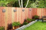 정원 반원 모양을%s 가진 가벼운 LED 태양 벽 빛