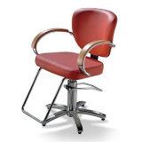 Anreden des Stuhl-stützender Stuhl-populären Salons, der Herrenfriseur-Stuhl anredet