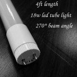 Bianco dell'indicatore luminoso 18W del tubo di vetro di prezzi bassi LED T8