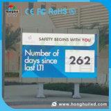 DIP346 im Freien Digital P16 LED Zahl-Bildschirmanzeige